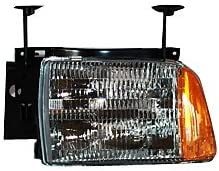 TYC Max 85% OFF 20-5092-00 Opening large release sale Chevrolet Blazer Headlight Driver Assembly Side