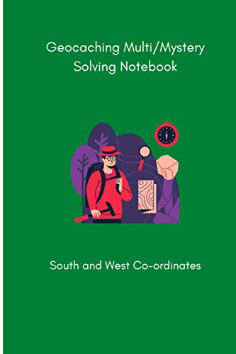 Geocaching Puzzle Solving Notebook