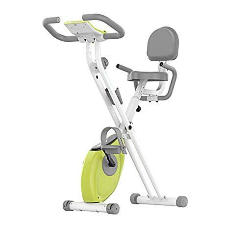 Bicicleta estática, bicicleta de ejercicio para principiantes, entrenador de brazos y entrenamiento de piernas, entrenador de pedal para fortalecimiento muscular, entrenamiento de resistencia