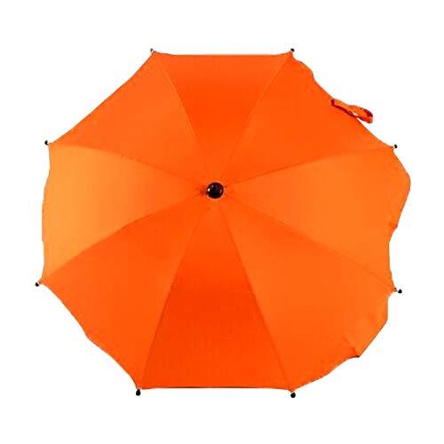 Yi-xir Komfortable Erfahrung Kinderwagen/Kinderwagen und Rollstühle bieten Schutz vor Regen und der Sonne, einstellbaren Laciness-Regenschirm für Karren Kompakter Reiseschirm