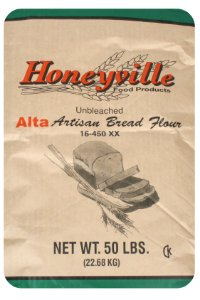 Alta Artisan Unbleached Flour - For Bread and Other Baked Goods, Bulk 50 Pound Bag