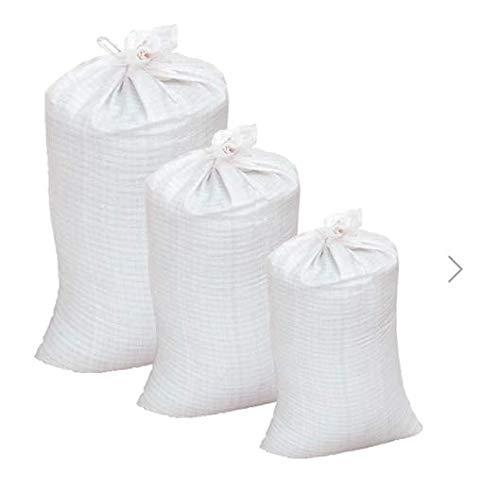 Beste Angebote PP- Gewebesäcke Getreidesack Laubsack Sack Getreidesack Transportsack Lagersack Hier alle Größen zum auswählen (50, 50x80cm)