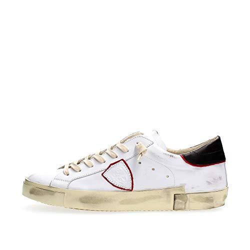 PHILIPPE MODEL PARIS PRLU V024 Paris X Sneakers Homme White Red 46