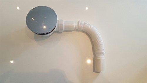 Siphon Ablaufgarnitur Ablauf für Duschtassen mit Ø90 mm Ablfluß / Dusche Duschwanne Geruchsveschluß