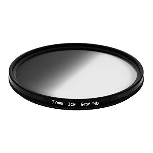 ICE 77mm GND8 Soft Grad ND8 Filter Neutral Density ND 77 3 Stop Optical Glass