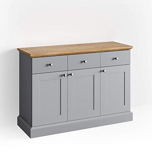 Vicco Sideboard Cambridge Kommode Schrank Eiche Landhaus Anrichte Highboard