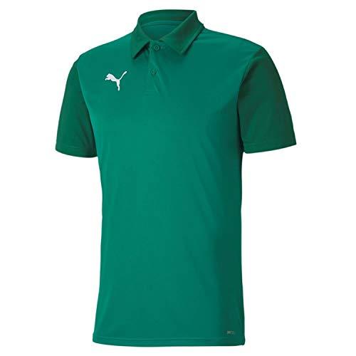 PUMHB|#Puma Teamgoal 23 Sideline Polo, Maglietta Uomo, Pepper Green-Power Green, L