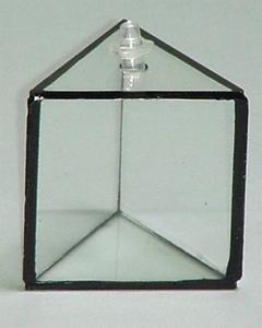 SEOH Gleichseitiges Prisma aus hohlem Acryl für Lichtbrechung.