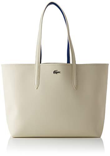 Lacoste Damen NF2142 Einkaufstasche, Denim Sandstrahler, Einheitsgröße