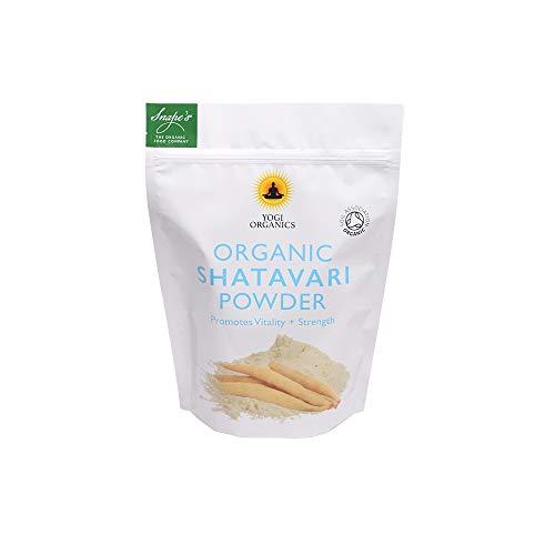 Yogi Organics. Organic Shatavari Powder - Asparagus-Racemosus - 250 Grams