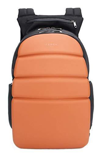 Fedon 1919 Ninja Semi Rigid 13 Laptop Backpack Mz1930003 Orange
