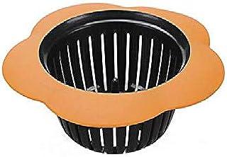 シンプルライフ、ライフアシスタント 2 PCSポータブルハンドヘルドアウトレット水タンクストレーナーシンクフィルターフロアドレインバスルームキッチンガジェット(オレンジ)、ピンセットのパイプをクリーニングする元のクリーニング方法に別れを告げま...