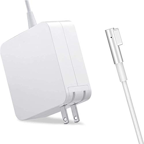 Mac Book Pro Charger, Replacement AC 60W Power Adapter, 60W White Charger L-Tip Magnetic Connector Compatible for Mac Book Pro 13-Inch(Before Mid 2012 Models). Buy it now for 20.99