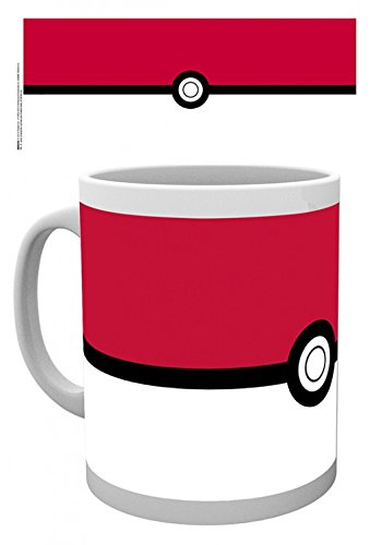 1art1 Pokemon - Pokeball Foto-Tasse Kaffeetasse 9 x 8 cm