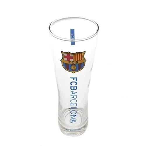 Barcelona Offizielles hohes Bierglas, Mehrfarbig
