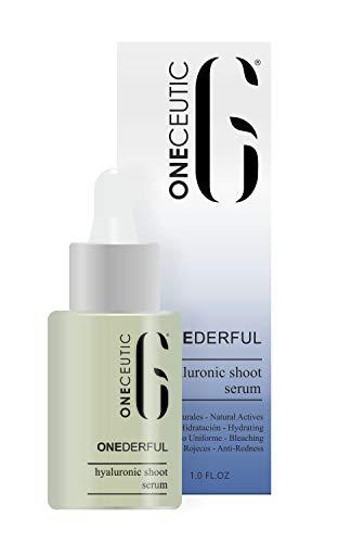 ONECEUTIC – Serum OneDerful – Serum facial concentrado con ácido hialurónico – Belleza instantánea y tratamiento progresivo – 30 ml.