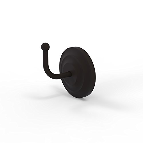 Allied Brass QN-H1 Que New Collection Robe Hook, Oil Rubbed Bronze