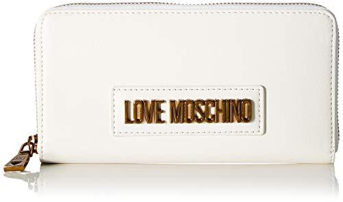 Love Moschino Jc5627pp0a, Portafoglio Donna, Bianco (White), 2x10x20 cm (W x H x L)