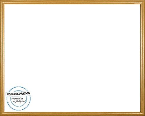 Rotterdam plastic fotolijsten 50x60 cm 60x50 cm kleurkeuze: hier beuken met acrylglas antireflex