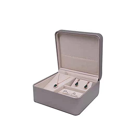 Caja de joyería joyería joyería anillo pendientes colgante pulsera pulsera caja de almacenamiento-oro, 150* 140* 70mm
