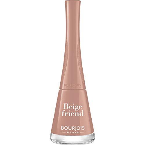 Bourjois - Vernis à Ongles 1 Seconde - 1 ongle = 1 Couche = 1 Seconde - Séchage en 50 Secondes - 04 Beige Friend 9ml