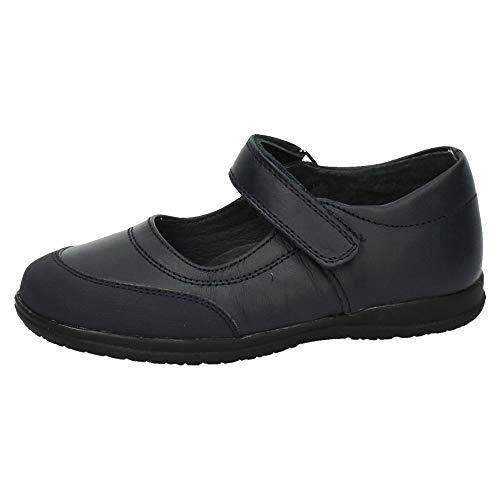 BONINO G01B-12 Zapatos Colegiales NIÑA Zapato COLEGIAL Marino 36