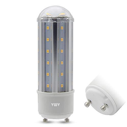 VWV GU24 LED Bulb 8W, Aluminum Alloy Material,70-80W Halogen Bulbs Equivalent,750-800 Lumens,AC 85V~265V,360° Beam Angle, Non-Dimmable Warm White 3000K