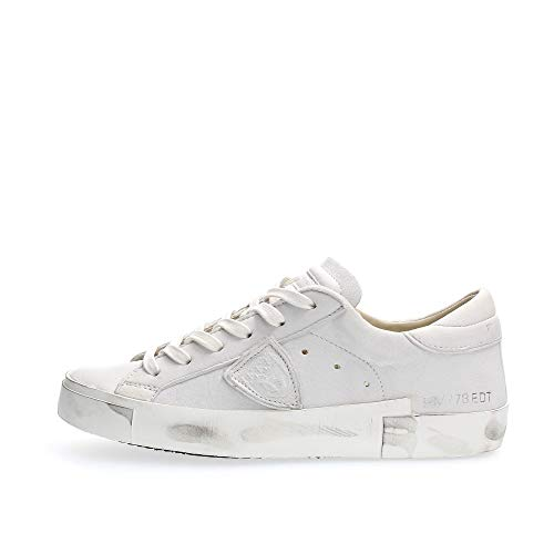 Philippe Model Paris X Basic Sneaker Damen Weiss - 37 - Sneaker Low Shoes