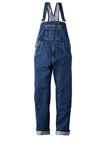 Men Plus Herren Jeans-Latzhose Blue Stone 26