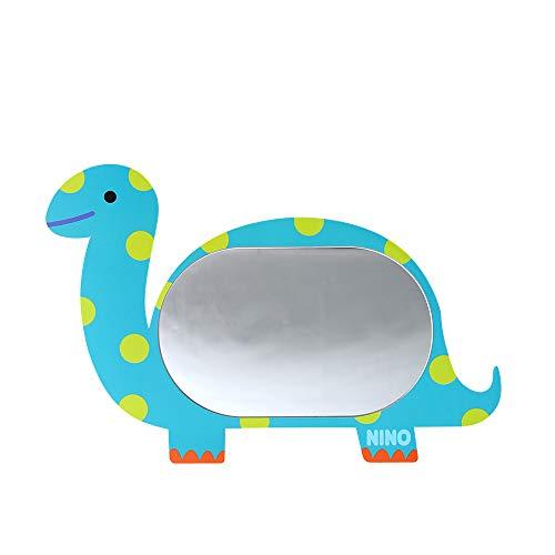 Antike Alive Dinosaurier Brachiosaurus Safe EVA unzerbrechlich Acryl Kinder Junge Mädchen Baby Kinder Zimmer Bad Kindergarten Wand Home Decor Niedlich Spiegel Board