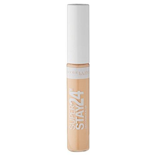 Maybelline New York Super Stay 24h Concealer Light 02 / Abdeckstift in natürlichem Braun, langanhaltendes Teint-Make-Up gegen Hautunebenheiten, 1 x 7,5 ml