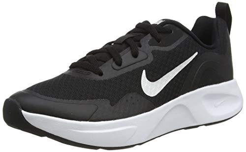 Nike Wmns WEARALLDAY, Scarpe da Corsa Donna, Black/White, 37.5 EU