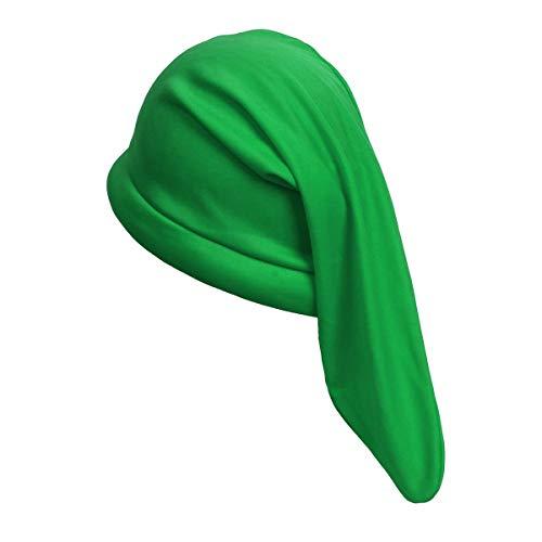 """NUWIND 12\"""" Zwerg Gnom Hut in Sieben Farben - Märchen Elfen Mütze für Halloween Kostüm Accessoire Party Cosplay (grün)"""