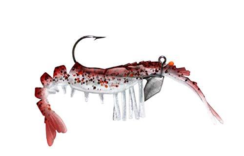 "VUDU E-VS35-14-49 Shrimp, 3.25"" 3.25 inch 1/4 oz (2pk)"