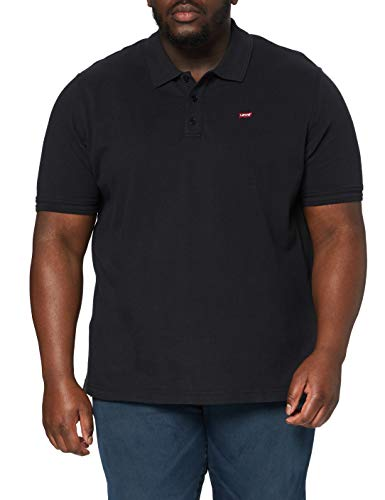 Levi's Herren Hm Polo Big Poloshirt, Mineral Black, 2XL
