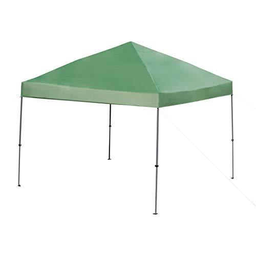 Amazon Basics 3x3M pop up gazebo, Green, with wheeled Carry bag