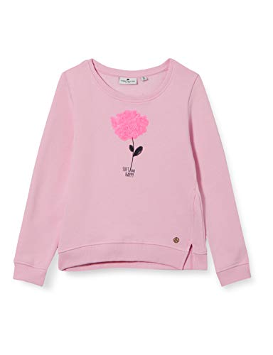 TOM TAILOR Baby-Mädchen Sweatshirt T-Shirt, Lilac Sachet Rose, 116/122