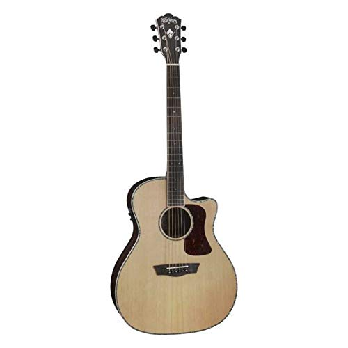 Washburn HG26SCE Heritage - Guitarra eléctrica acústica