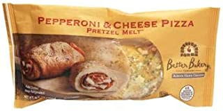 Better Bakery Pepperoni And Cheese Pretzel Melt, 18 Pieces