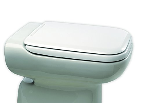 Bemis 100309000 Conca Sedile Copriwater Dedicato, Bianco