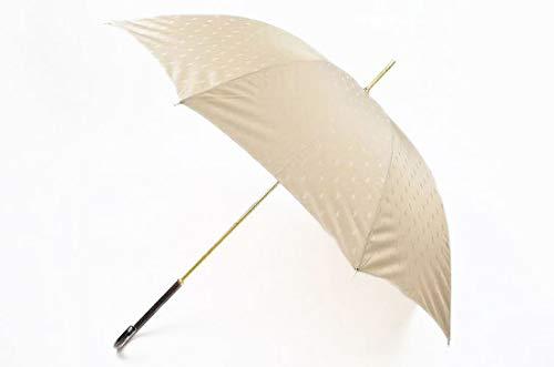 (ポロ ラルフローレン) POLO RALPH LAUREN 雨傘 長傘 傘 レディース ロゴ デザイン ベージュ 60cm