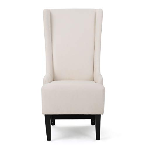 Christopher Knight Home Callie Fabric Dining Chair, Beige