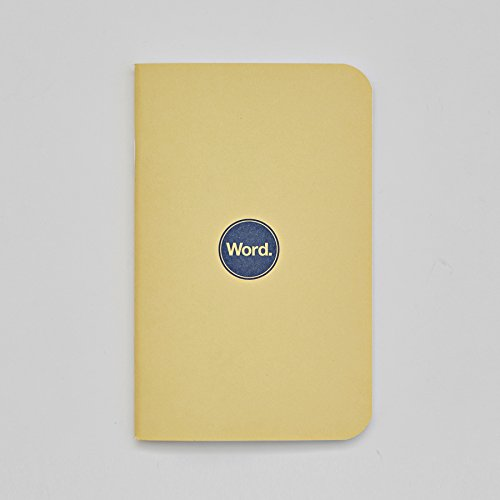 Word. Notebooks Yellow - 3-Pack Small Pocket Notebooks Photo #2