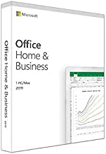 Microsoft Office Home and Business 2019 Lifetime Validity for 1 PC/MAC