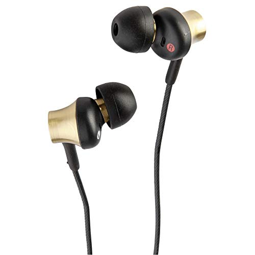 Sony MDR-EX650APT In-Ear-Kopfhörer, Messinggehäuse, Headset, Mikrofon, Fernbedienung, gold