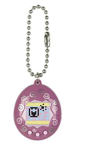 Bandai – 41818 – Tamagotchi – Dunkelpink – Mini-Ei mit virtuellem Tier