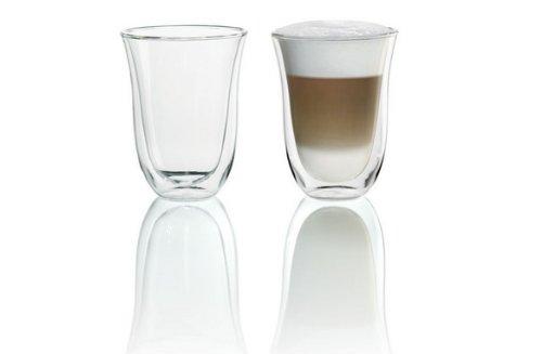 De'Longhi 5513214611Isolierte Latte Macchiato-Glas 2er Set