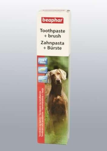 Beaphar, Dog-A-Dent Zahnpasta 100g + Zahnbürste