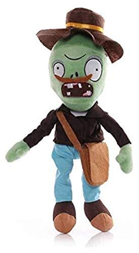 WUTONG Pflanze V Z 30 cm PVZ Bärtiger Z-Puppe mit Choolbeutel für Kinder Kinder Geschenkanlagen gegen Zombies Plüschspielzeug Zombie Figuren
