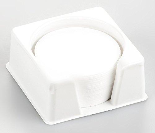 KERN YMF-A01 Glasfaser-Rundfilter, 100 Stück